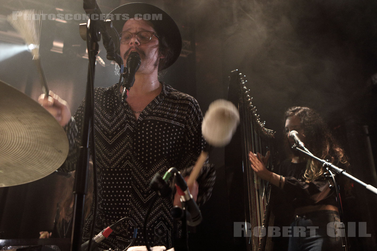 PETER KERNEL AND THEIR WICKED ORCHESTRA - 2017-10-12 - PARIS - Petit Bain