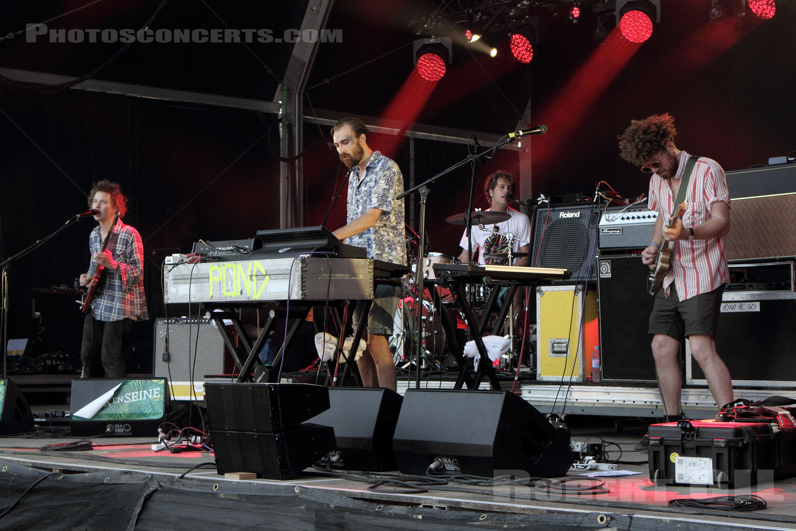 POND - 2015-08-30 - SAINT CLOUD - Domaine National - Scene Pression Live