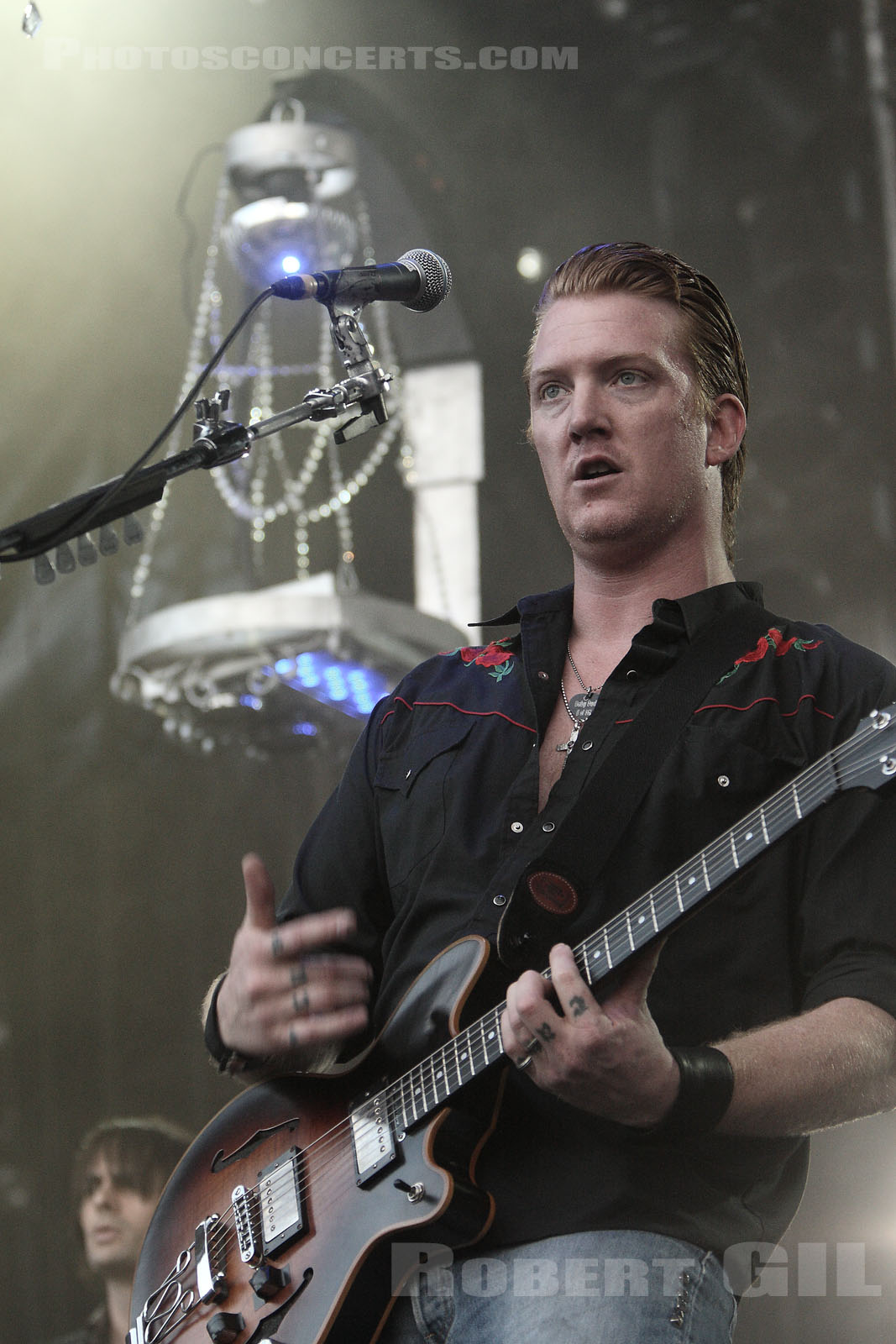 QUEENS OF THE STONE AGE - 2007-07-01 - CERGY - Base de Loisirs