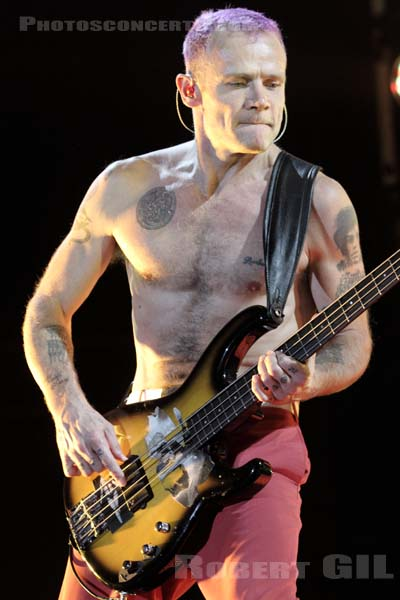 RED HOT CHILI PEPPERS - 2011-10-19 - PARIS - Bercy