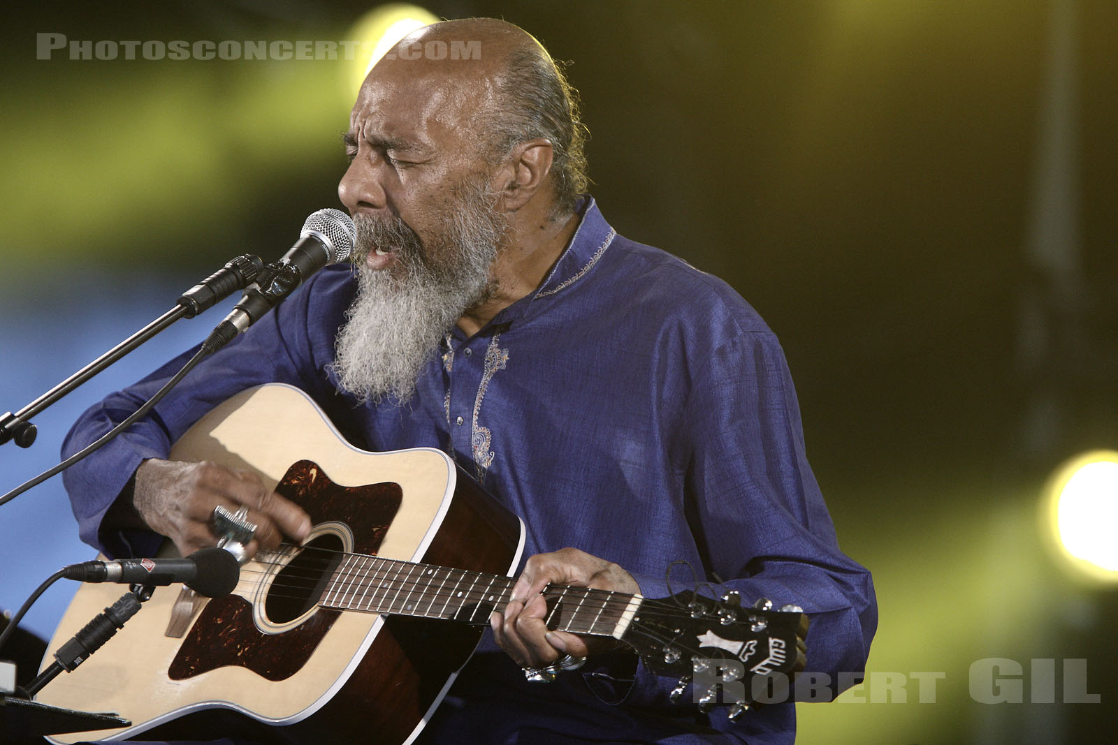 RICHIE HAVENS - 2008-07-06 - PARIS - Hippodrome de Longchamp