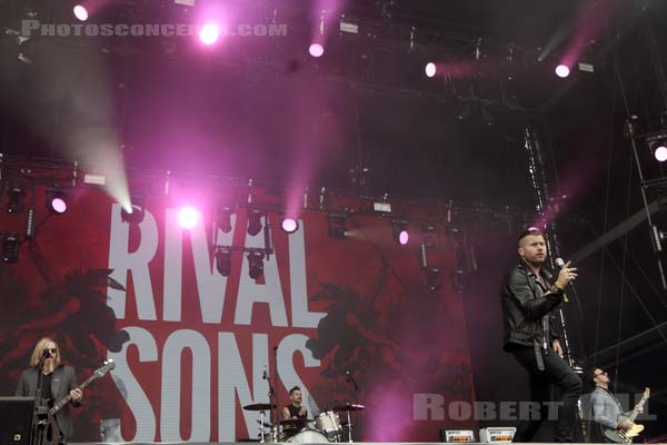 RIVAL SONS - 2017-07-23 - PARIS - Hippodrome de Longchamp - Main Stage 2