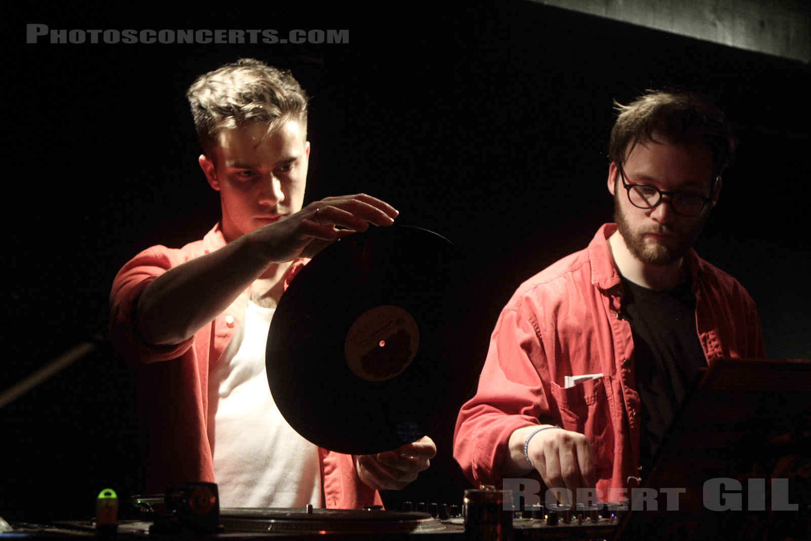 ROUGE VINYLE - 2015-04-18 - PARIS - Point Ephemere