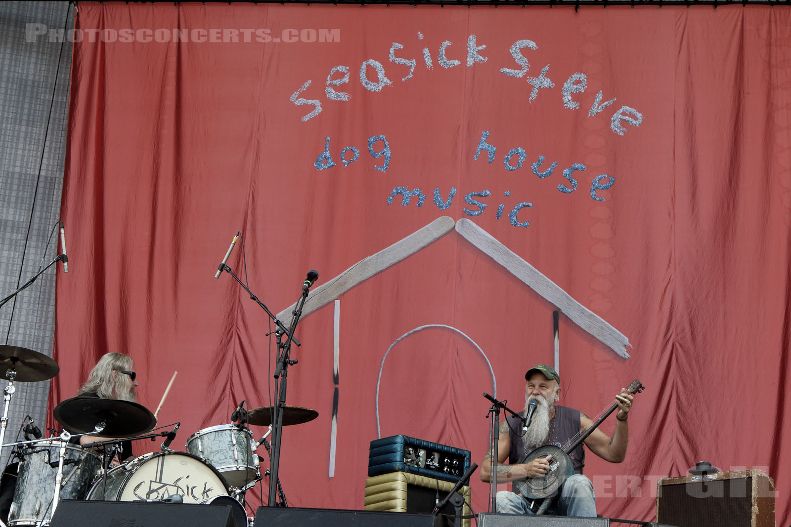 SEASICK STEVE - 2017-07-02 - ARRAS - La Citadelle - Main Stage