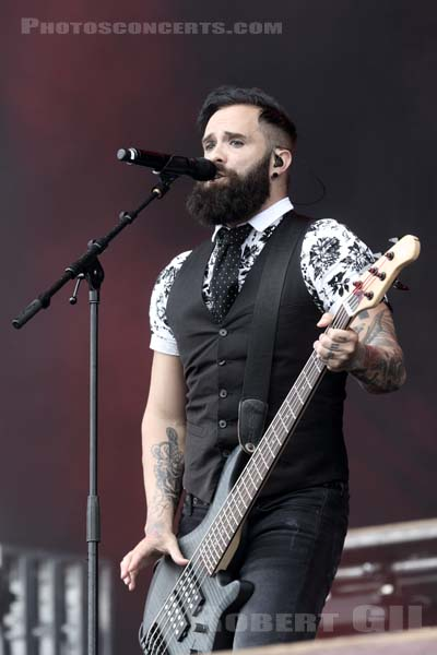 SKILLET - 2016-06-12 - PARIS - Hippodrome de Longchamp - Main Stage