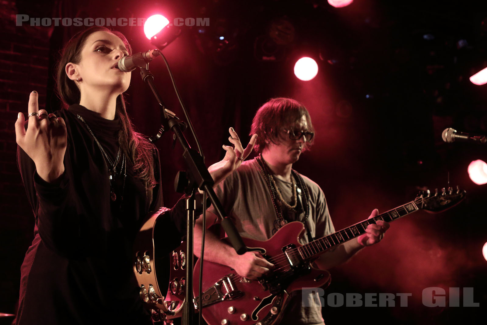 TESS PARKS AND ANTON NEWCOMBE - 2015-07-21 - PARIS - La Maroquinerie
