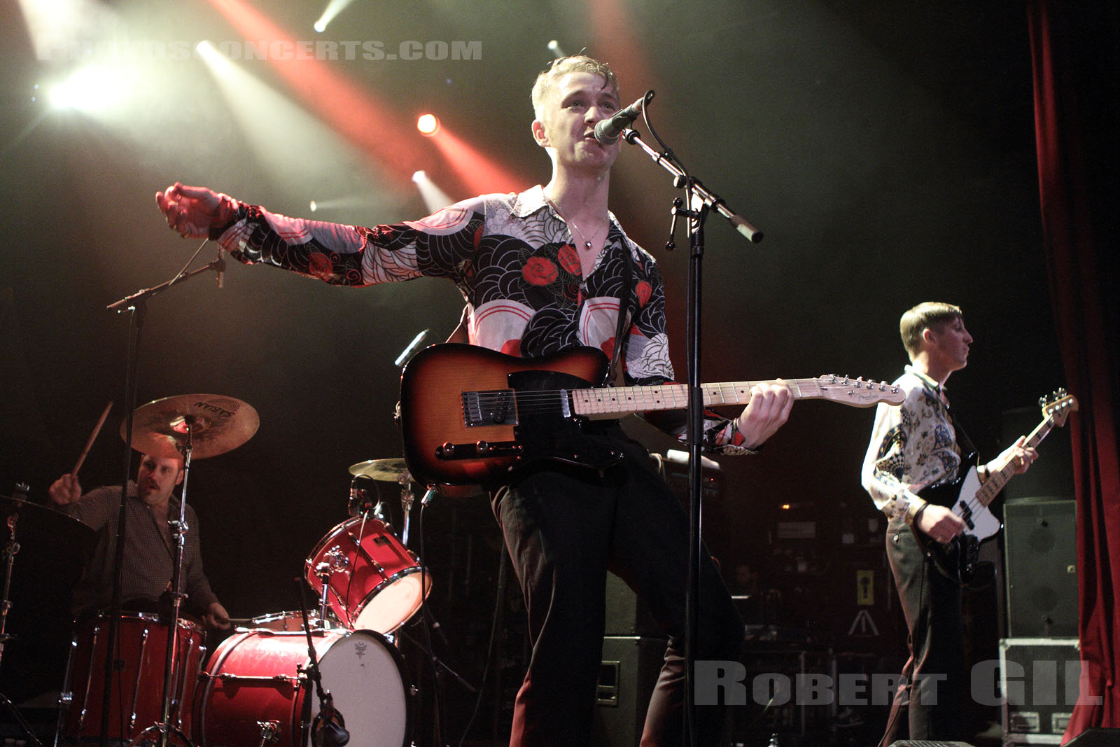 THE AMAZING SNAKEHEADS - 2013-11-07 - PARIS - La Cigale