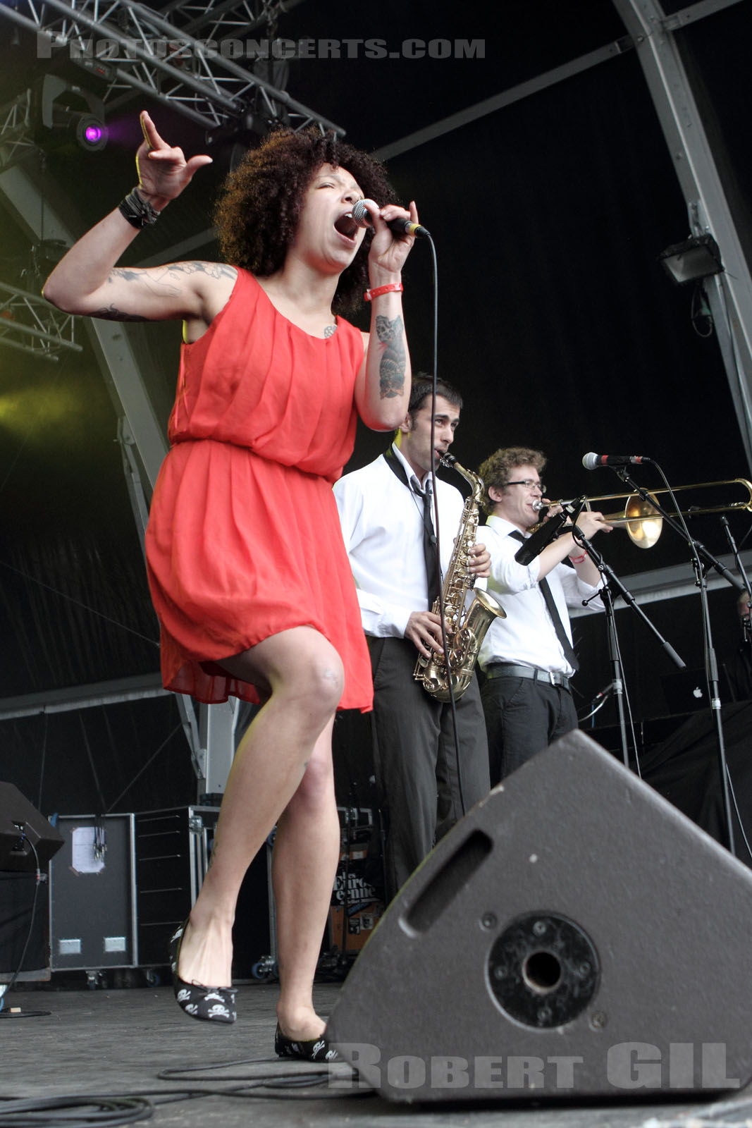 THE BUTTSHAKERS - 2012-07-01 - BELFORT - Presqu'ile du Malsaucy