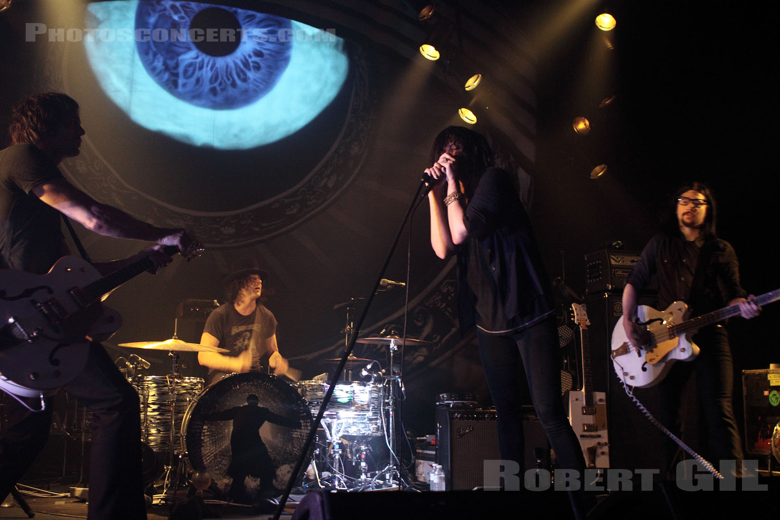 THE DEAD WEATHER - 2010-06-30 - PARIS - Le Bataclan