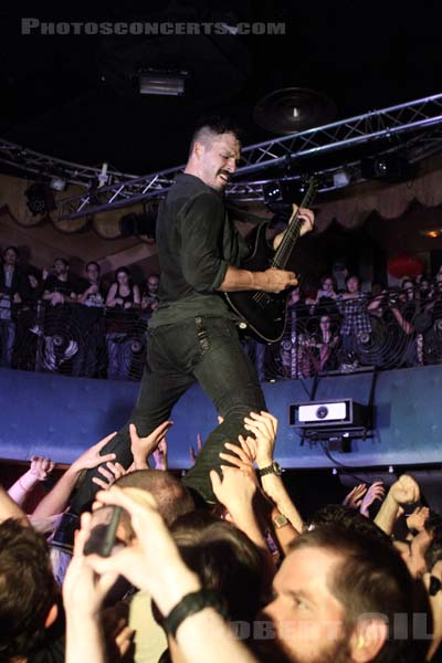 THE DILLINGER ESCAPE PLAN - 2013-09-28 - PARIS - Divan du Monde