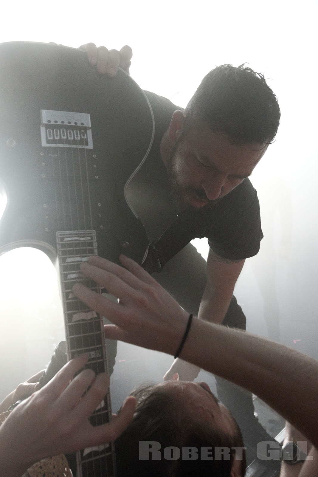 THE DILLINGER ESCAPE PLAN - 2017-06-19 - PARIS - Trabendo