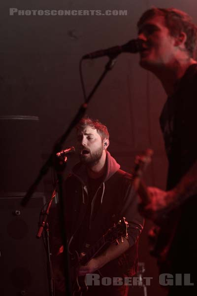 THE GASLIGHT ANTHEM - 2012-11-04 - PARIS - La Cigale