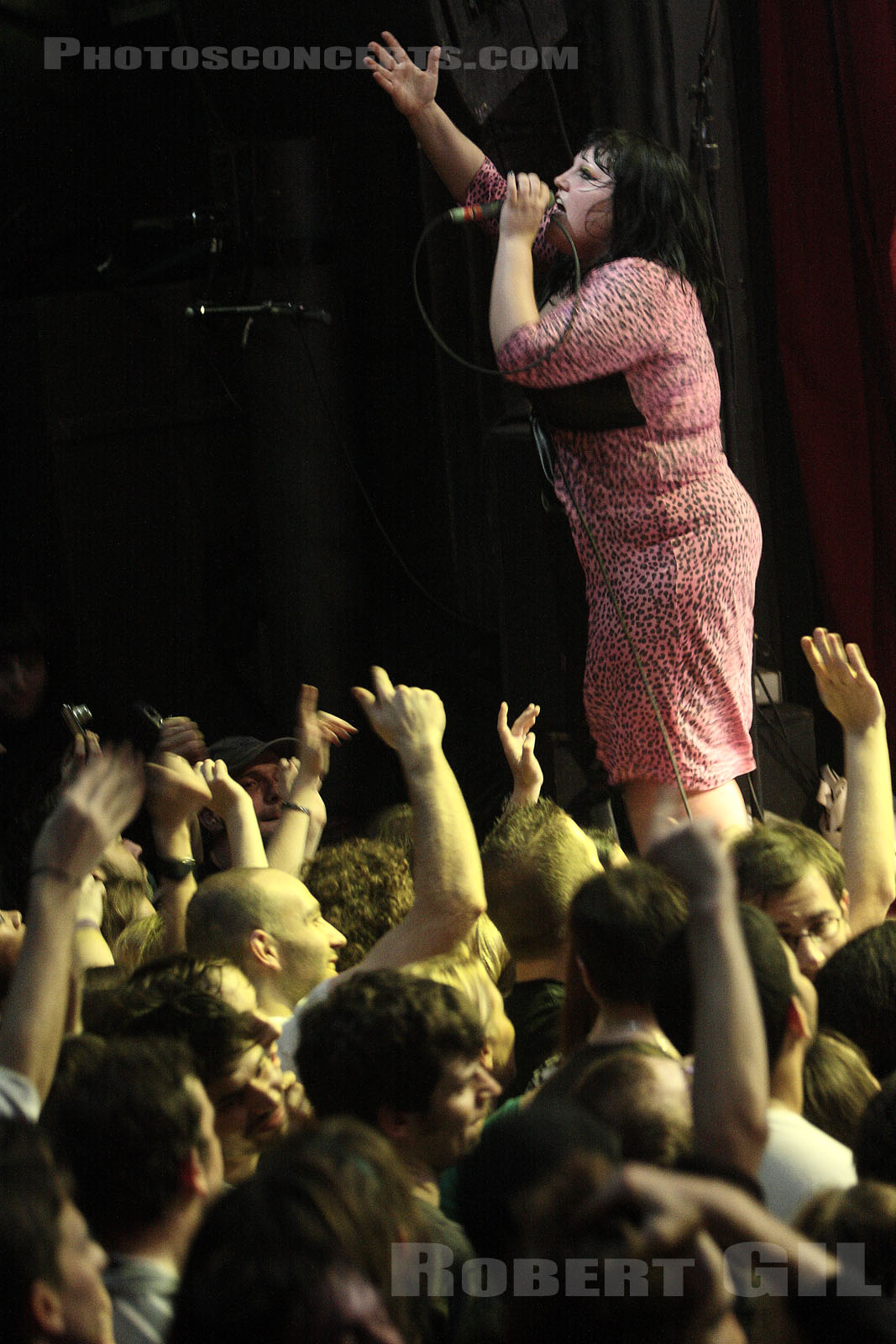 THE GOSSIP - 2007-11-10 - PARIS - La Cigale