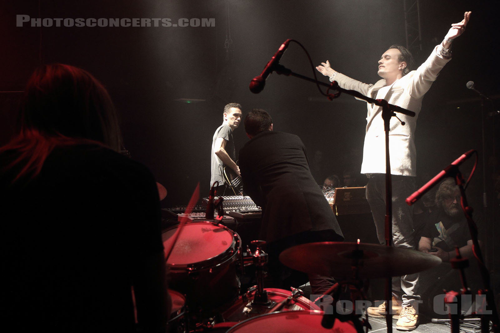THE GROUP - 2015-12-13 - PARIS - Petit Bain