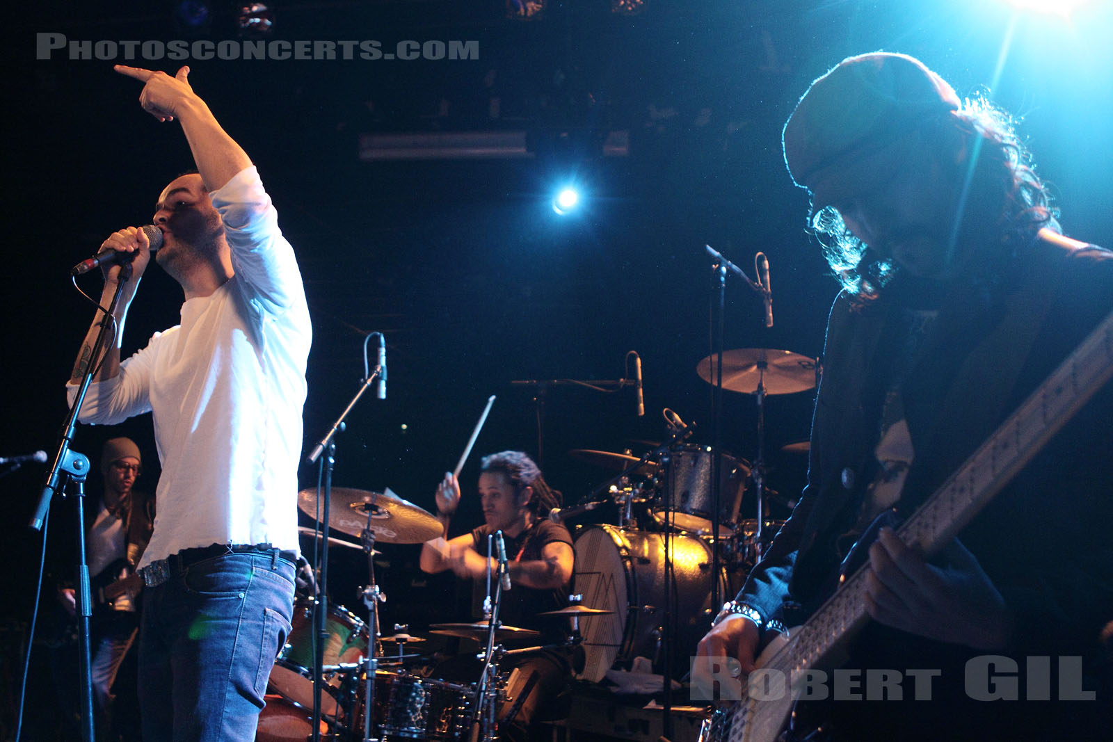 THE HALL EFFECT - 2009-10-14 - PARIS - Trabendo