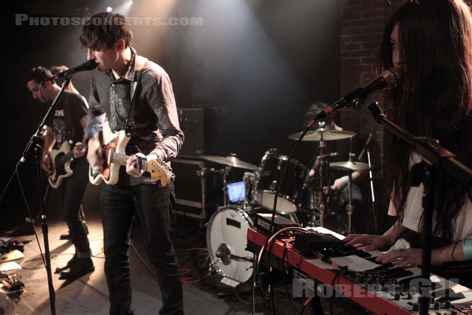 THE PAINS OF BEING PURE AT HEART - 2012-01-14 - PARIS - La Maroquinerie