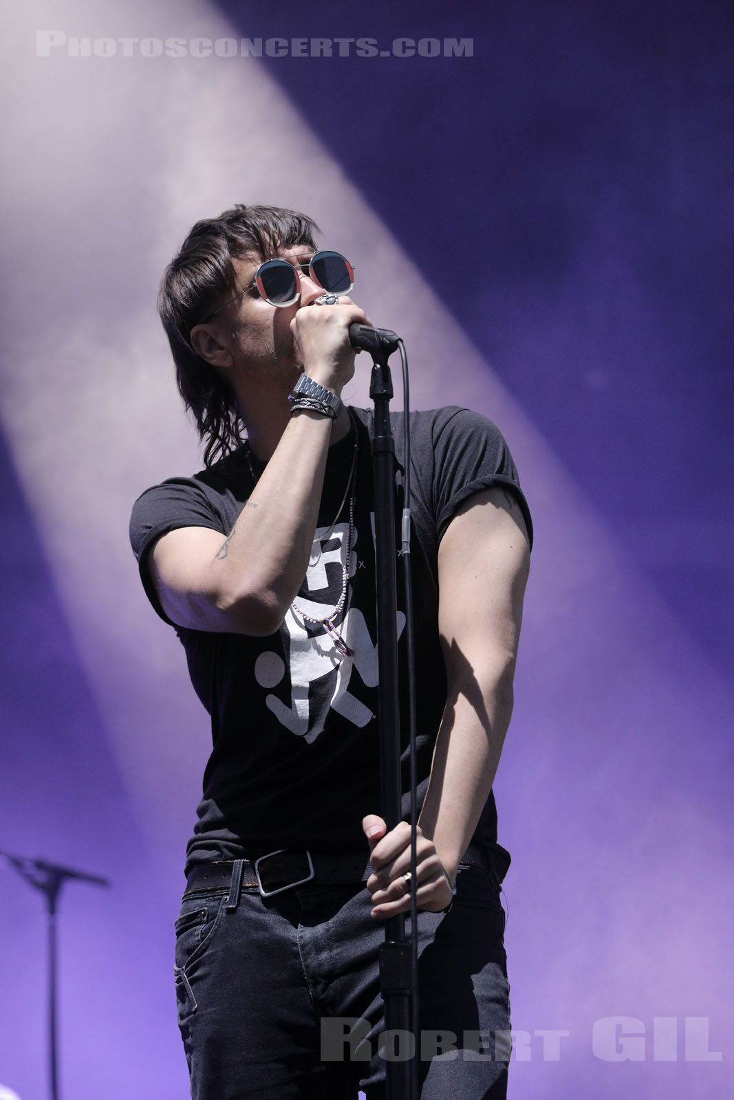 THE STROKES - 2019-07-21 - PARIS - Hippodrome de Longchamp - Main Stage 1