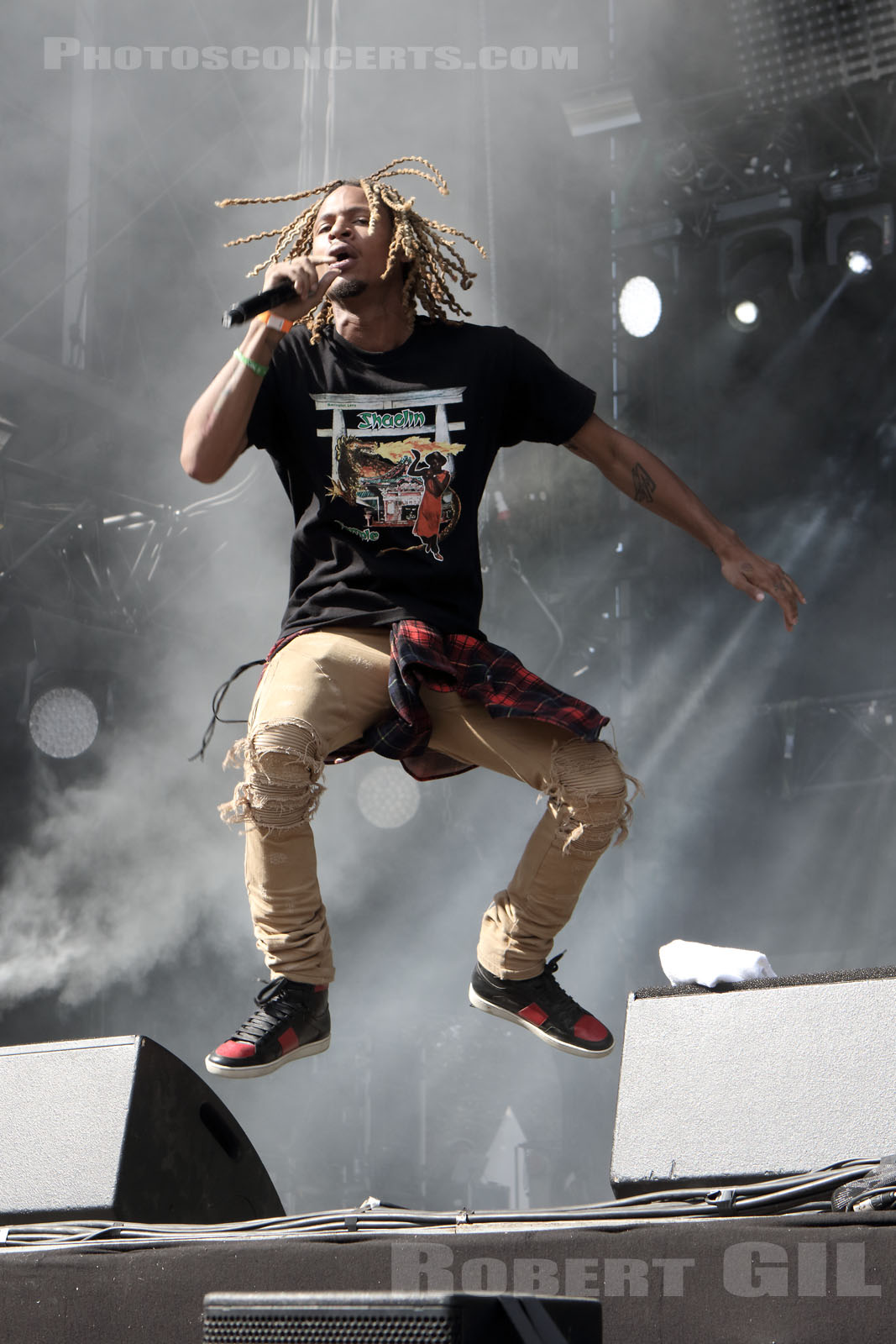 THE UNDERACHIEVERS - 2016-08-27 - SAINT CLOUD - Domaine National - Scene de la Cascade