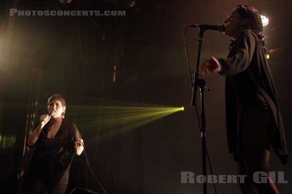 U.S. GIRLS - 2016-03-30 - PARIS - Divan du Monde