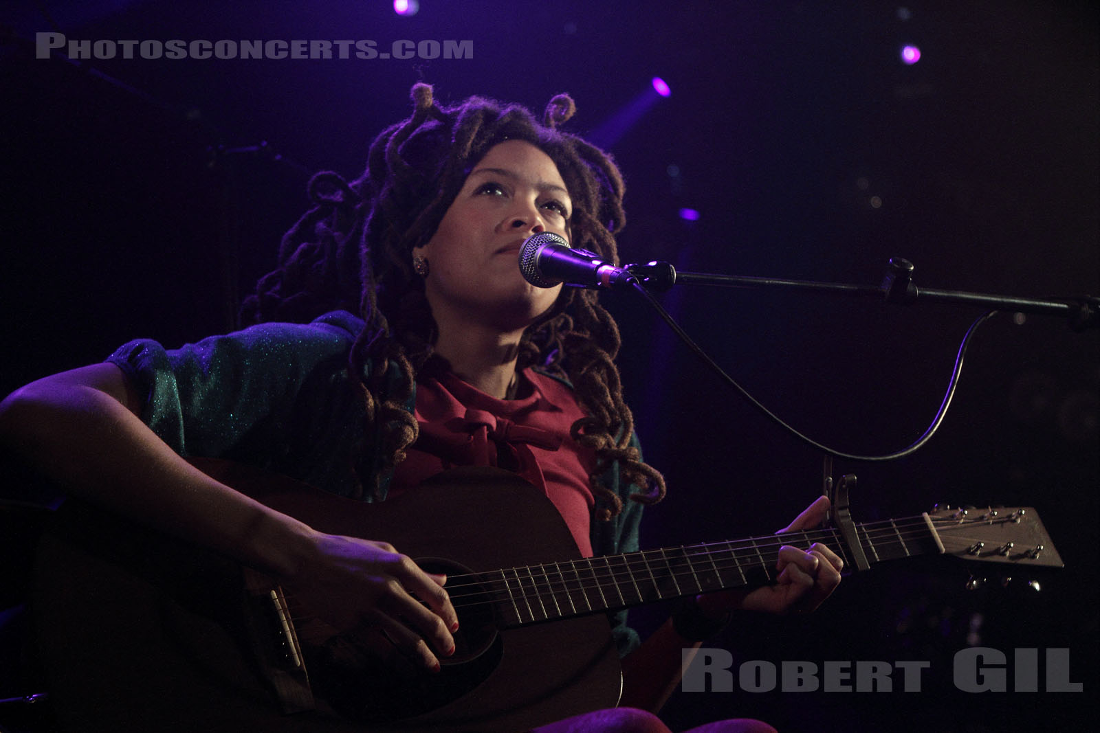 VALERIE JUNE - 2012-11-12 - PARIS - La Maroquinerie