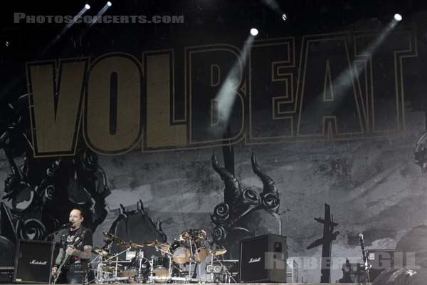 VOLBEAT - 2016-06-12 - PARIS - Hippodrome de Longchamp - Main Stage