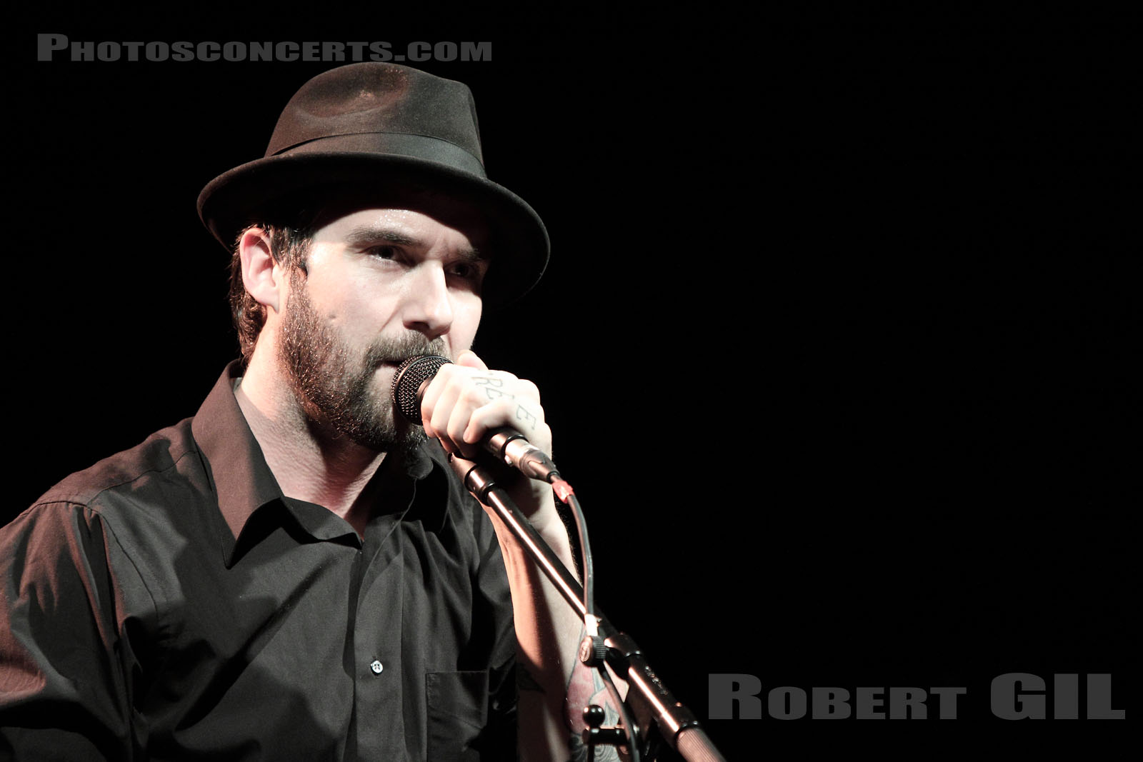 WILLIAM ELLIOTT WHITMORE - 2009-04-06 - PARIS - Le Bataclan