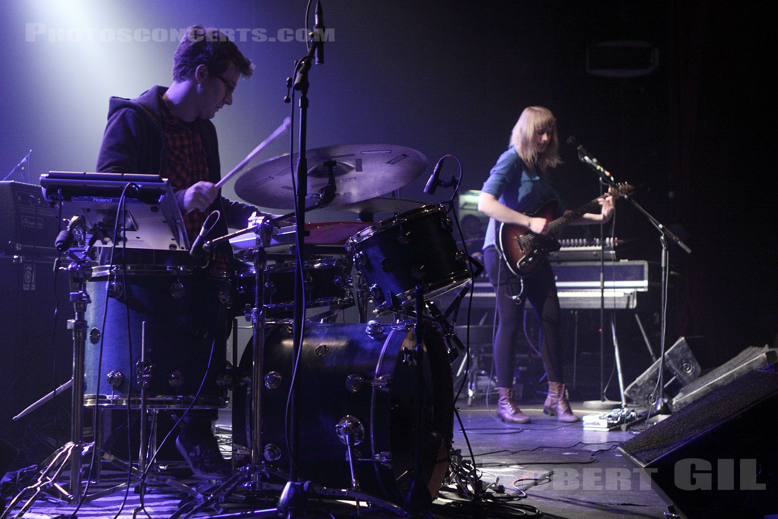 WYE OAK - 2011-02-15 - PARIS - Le Bataclan