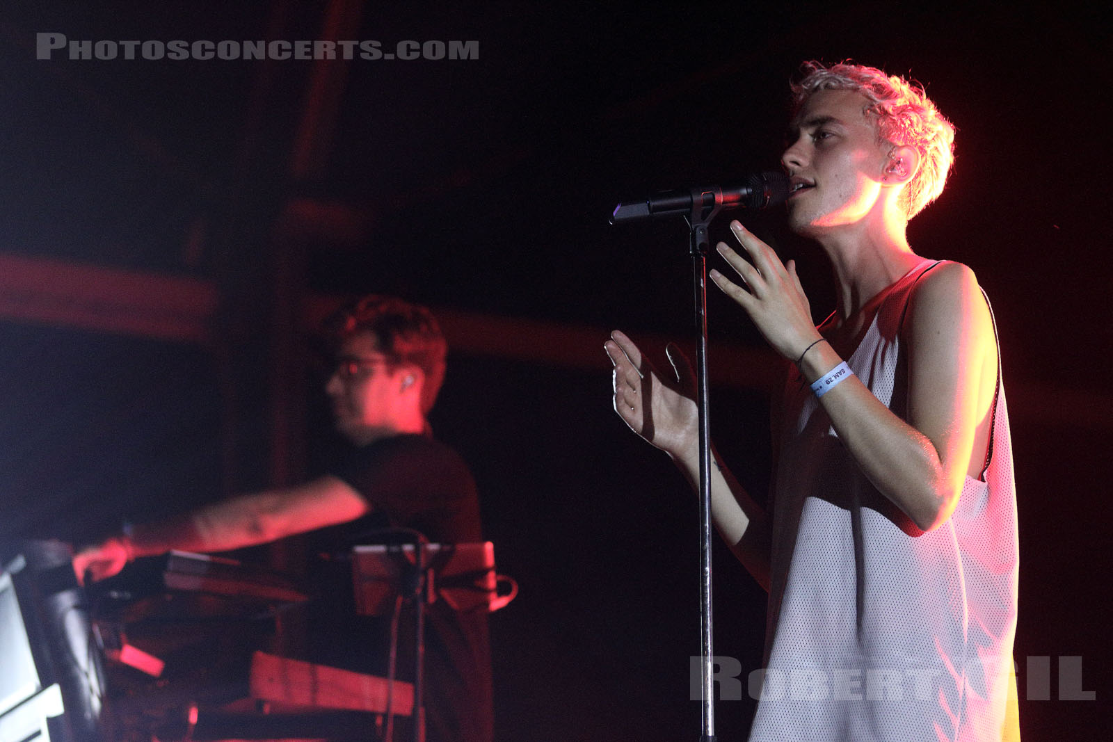 YEARS AND YEARS - 2015-08-29 - SAINT CLOUD - Domaine National - Scene Pression Live