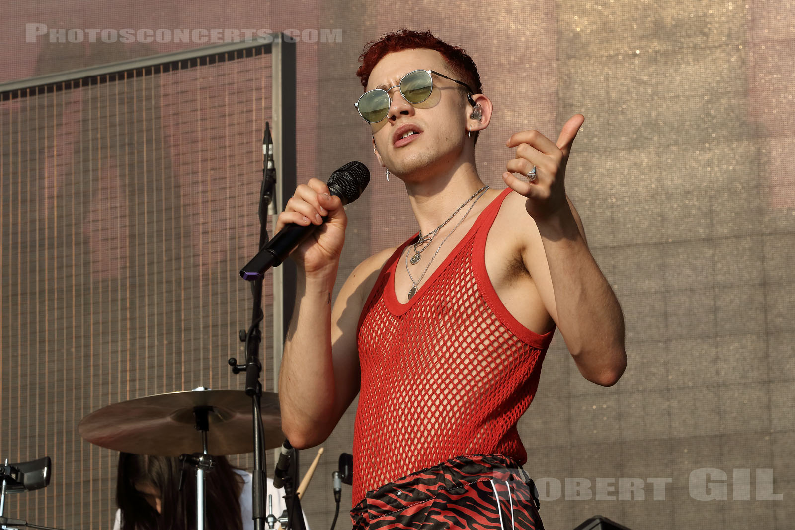 YEARS AND YEARS - 2018-07-22 - PARIS - Hippodrome de Longchamp - Alternative Stage